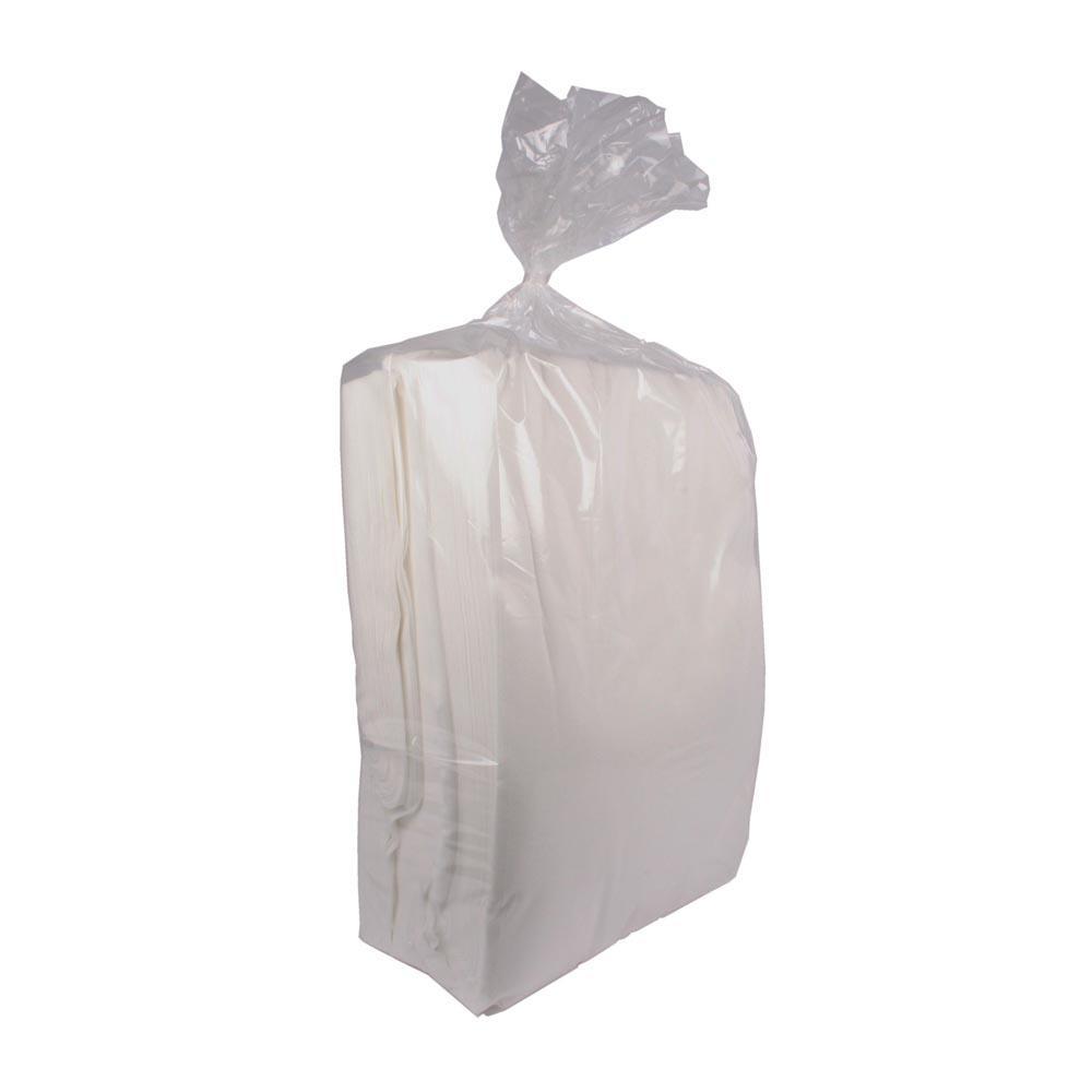 Teholiinapussi 5kg, 1-laatu, 40x60cm valkoinen